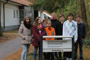 Unser Ziel: Die Kindernachsorgeklinik in Bernau - Waldsiedlung