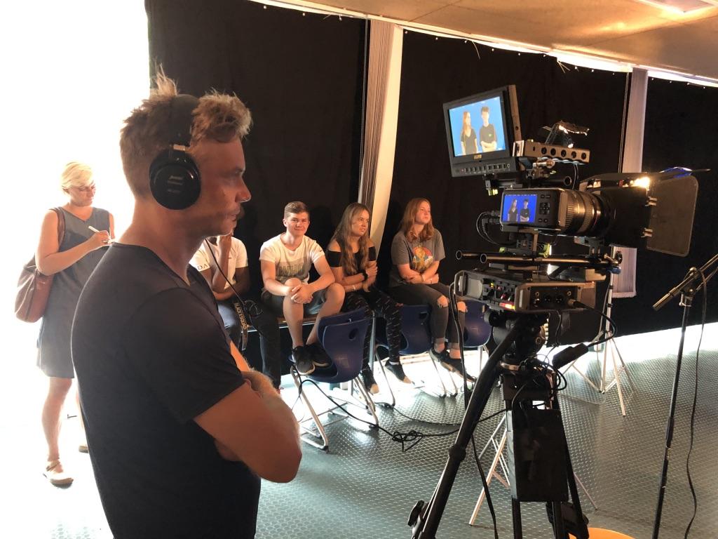Das Kamerateam bei #weareocean
