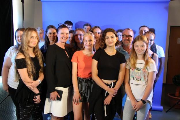 Diese Schülergruppe wird die BZO beim Marine Region Forum und im Furturium vertreten.