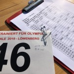 Wettkampfplanung der Athleten